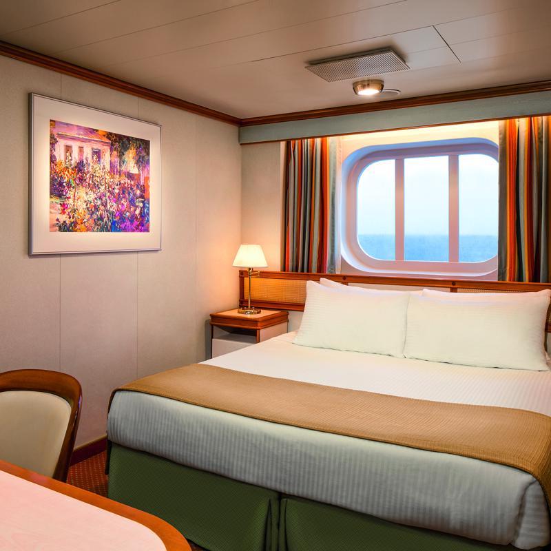 Oceanview Double cabin - Caribbean Princess