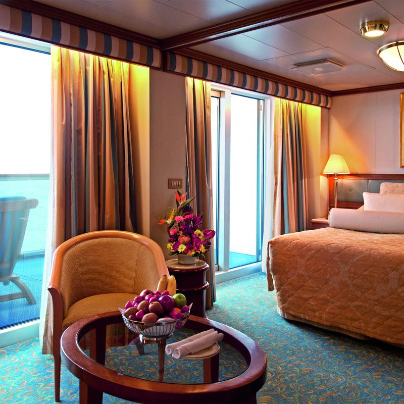 Premium Suite with Balcony - Crown Princess