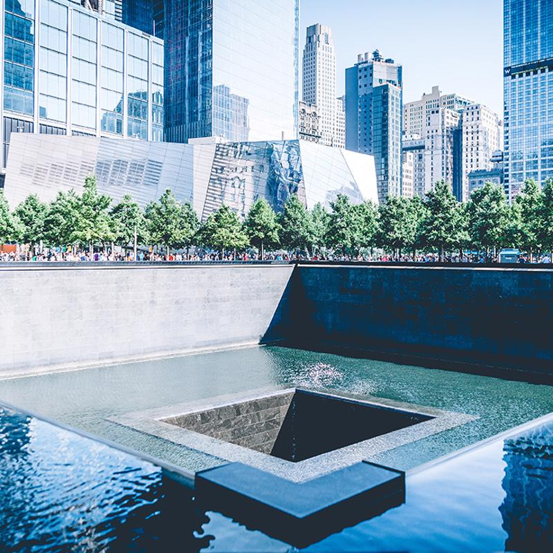 National September 11 memorial and Museum New York USA