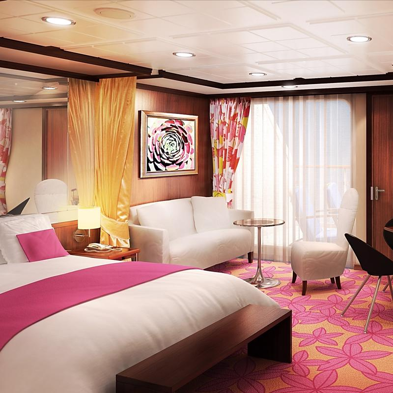 Forward Facing Penthouse with Large Balcony - Norwegian Gem