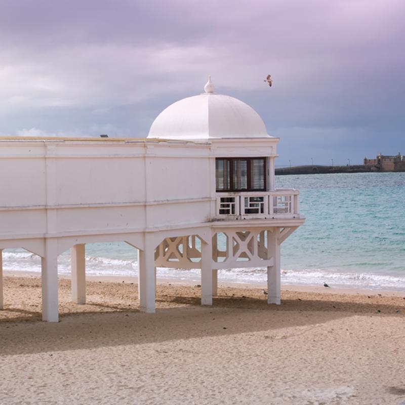 Playa la Caleta Cadiz Spain