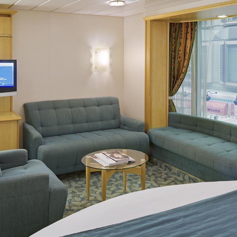 Promenade View Interior - Voyager of the Seas