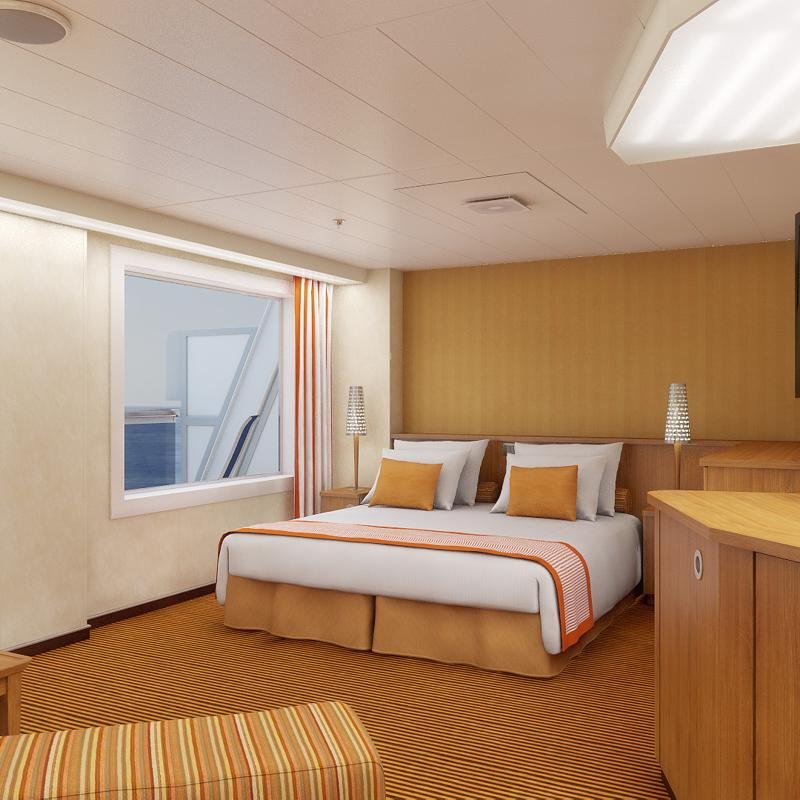 Captain's Suite-Carnival Sunrise