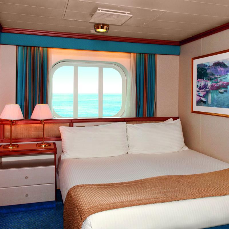Oceanview cabin - Crown Princess