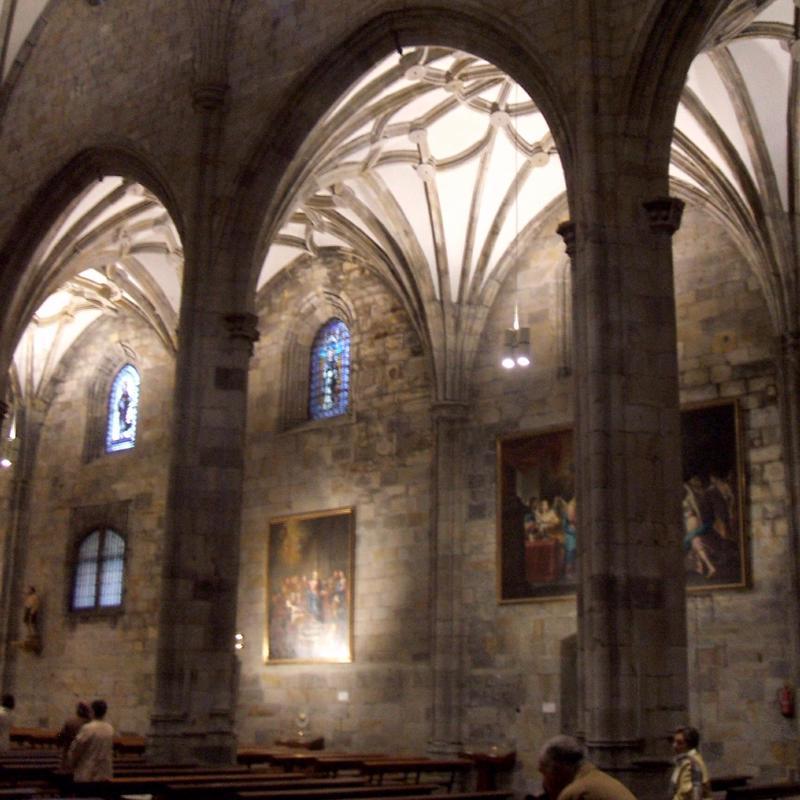 Basilica de Begona Bilbao Spain