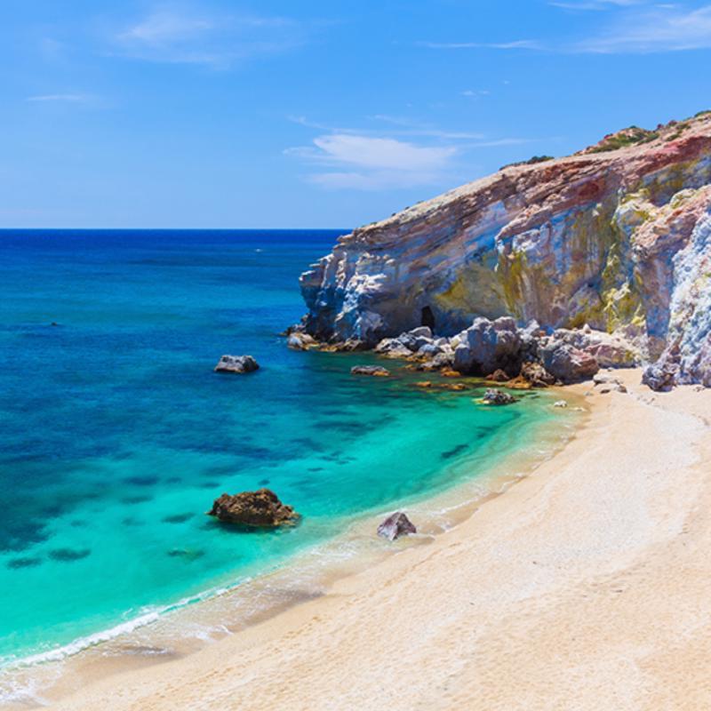 Paliochori Beach Milos Greece