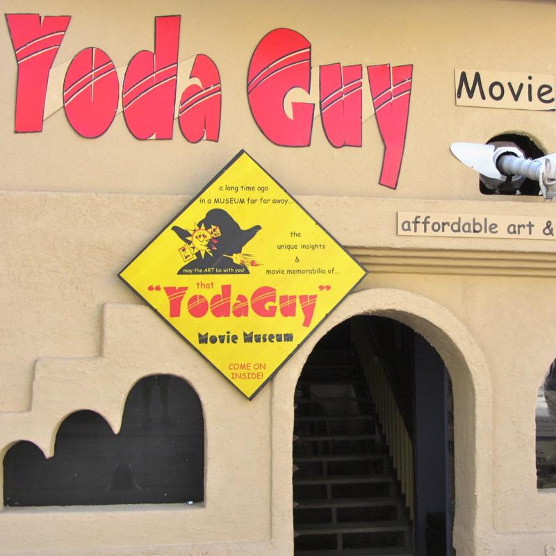 Yoda Guy Movie Exhibit Philipsburg Sint Maarten