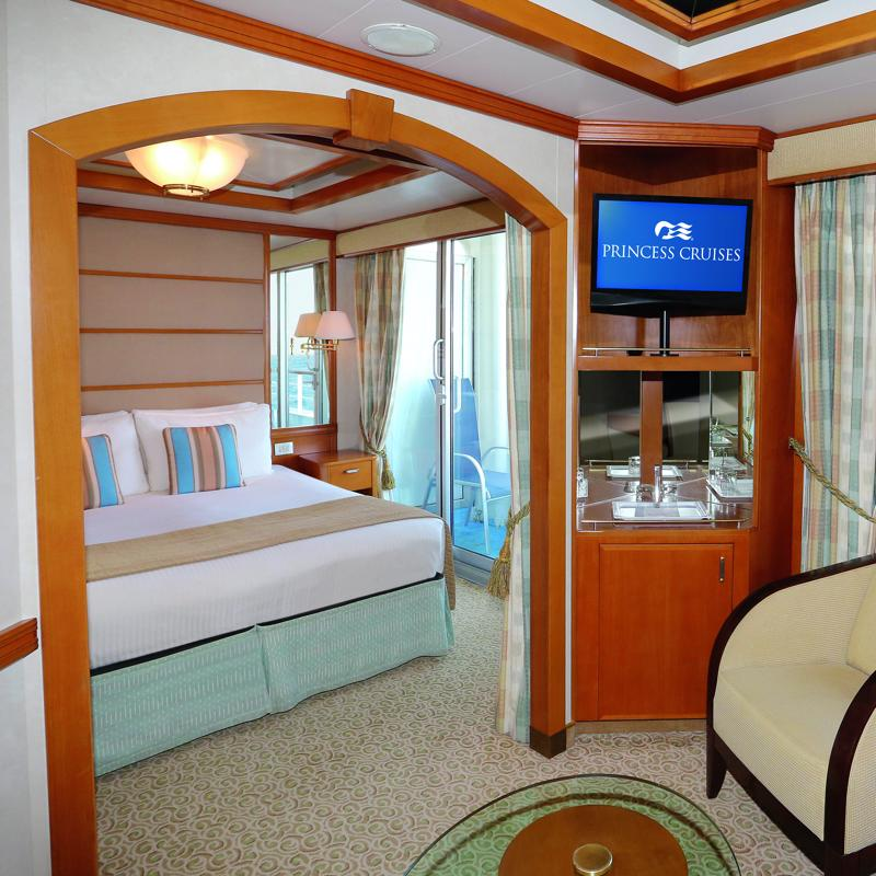 Mini-Suite with Balcony - Sun Princess