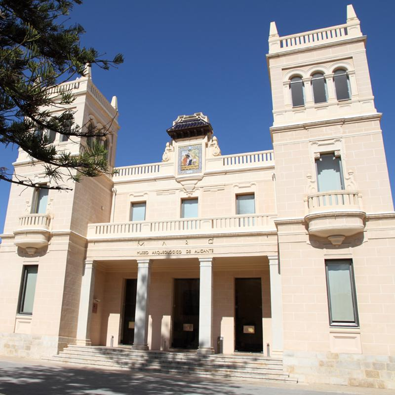 Archaeological Museum of Alicante Spain