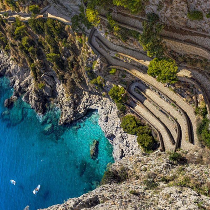 Gardens of Augustus Capri Italy