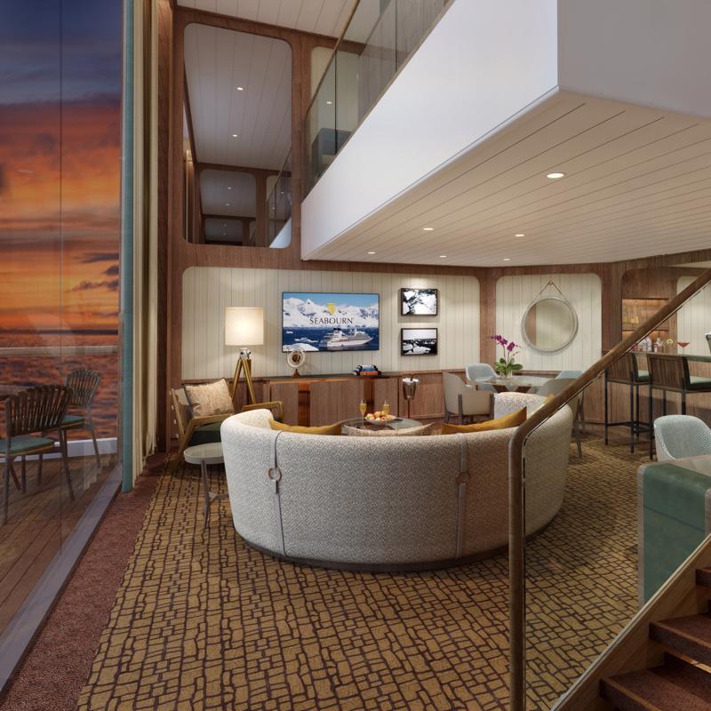 Wintergarden Suite Seabourn Venture