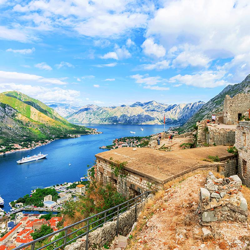 San Giovanni Castle Kotor Montenegro