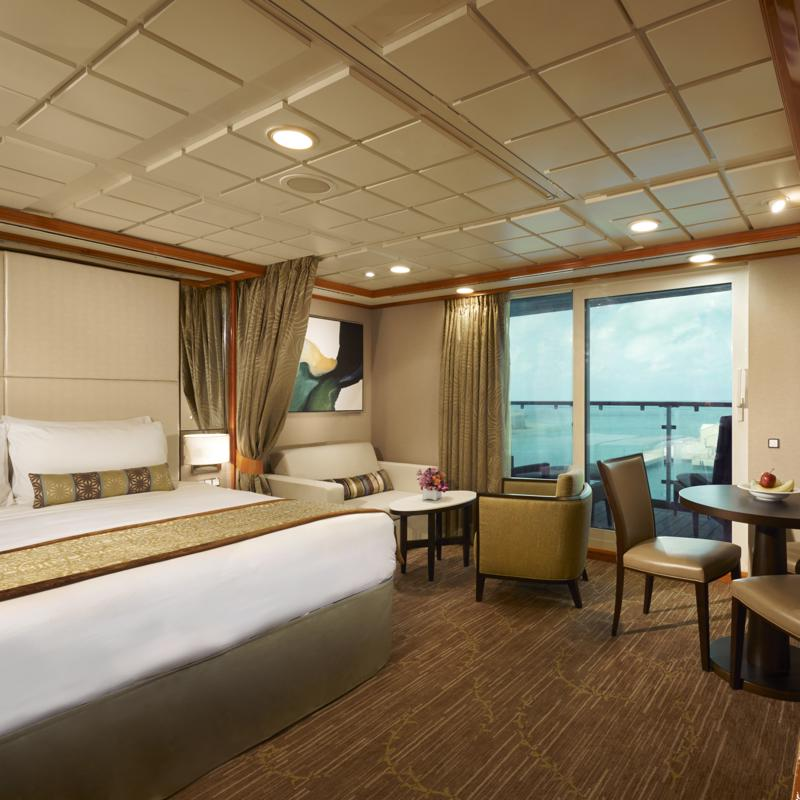 Aft-Facing Penthouse with Large Balcony - Norwegian Dawn