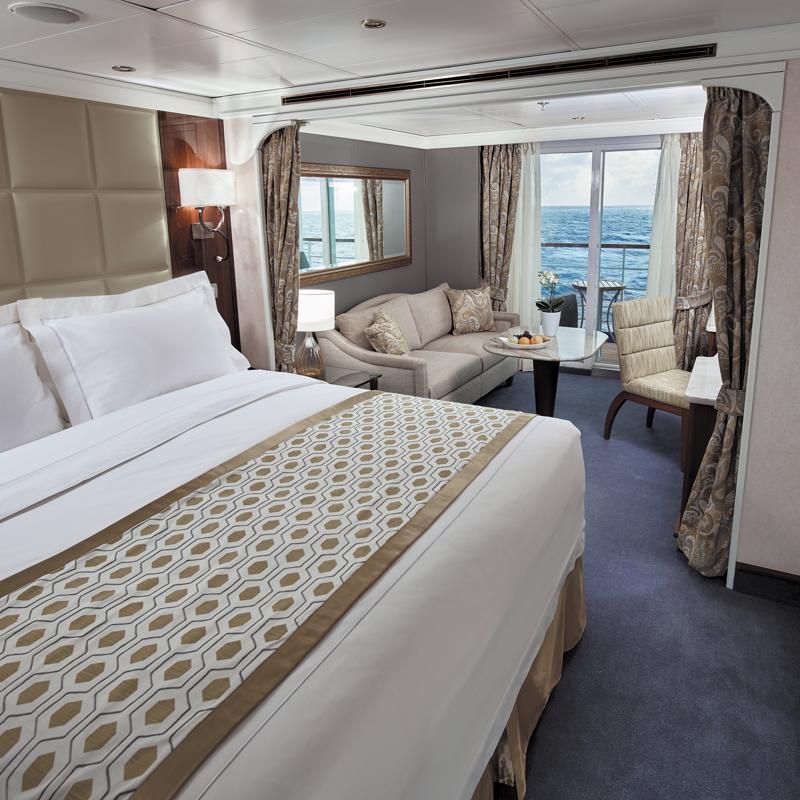 Deluxe Veranda Suite on Regent Seven Seas Voyager