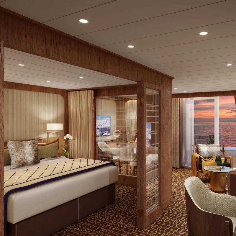 Penthouse Suite Seabourn Venture