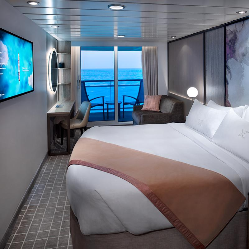 Deluxe Oceanview Stateroom Veranda Celebrity Millennium