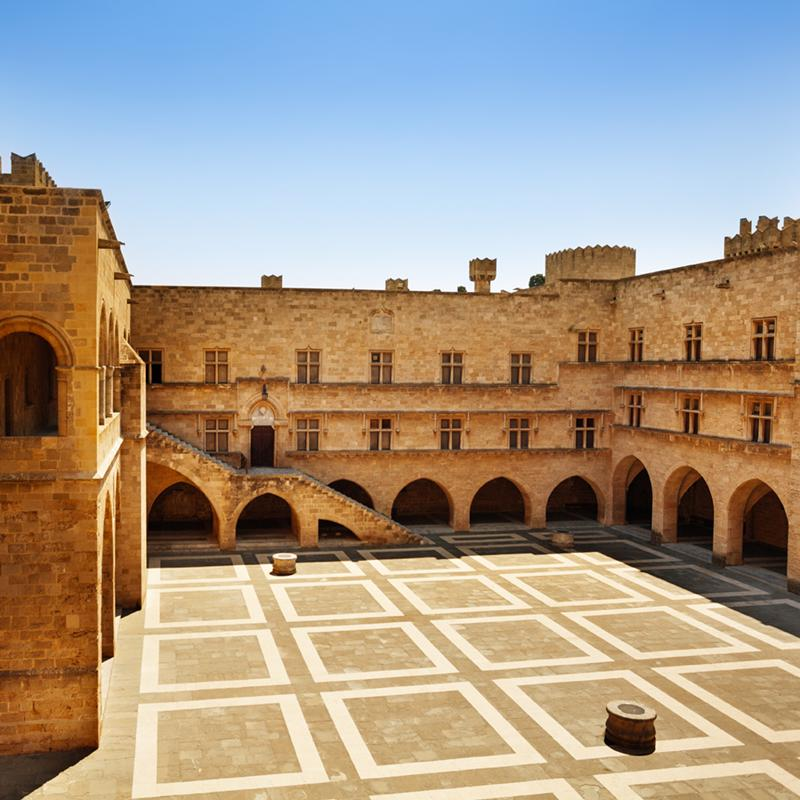 Palace of the Grand Master of the Knight of Rhodes Greece