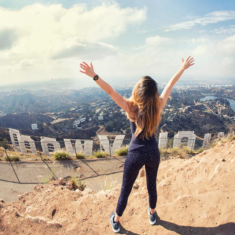 Hollywood Hills and Sign Los Angeles USA