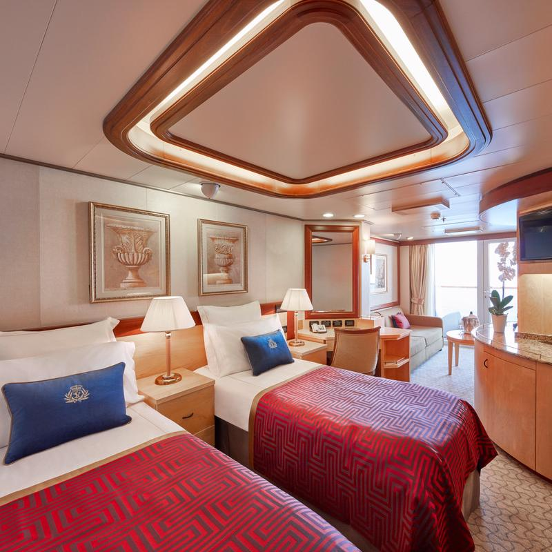 Princess Suites - Cunard Queen Victoria