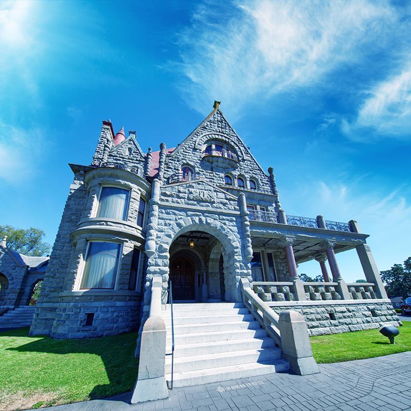 Craigdarroch Castle Victoria British Columbia Canada