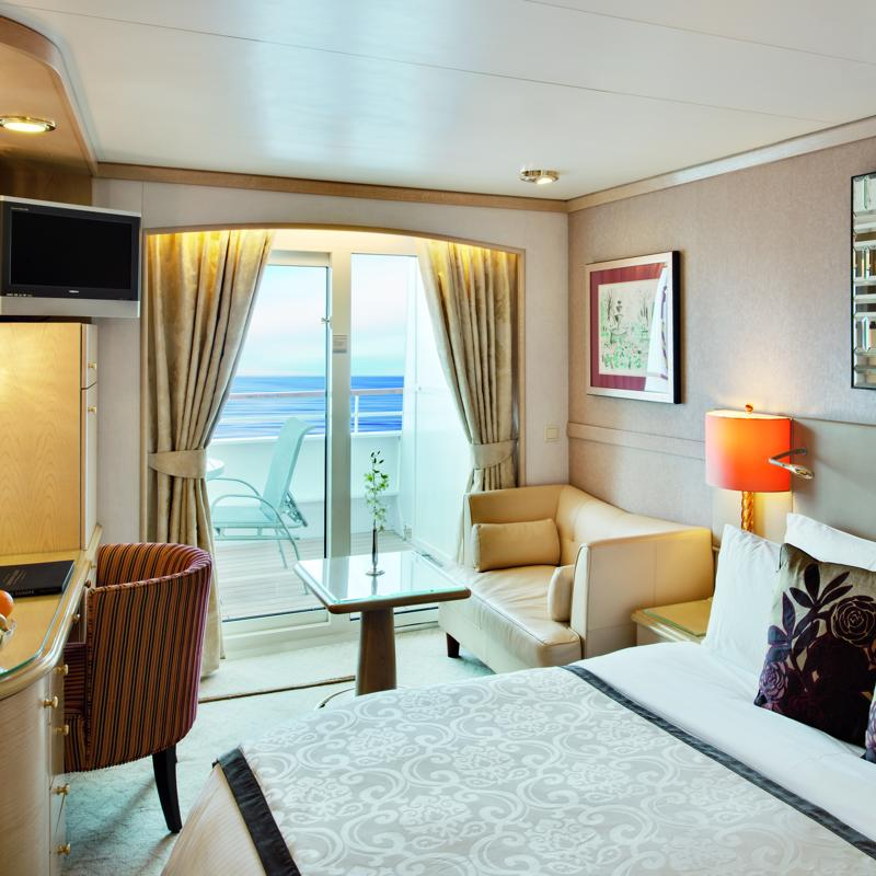Deluxe cabin with Verandah - Crystal Symphony