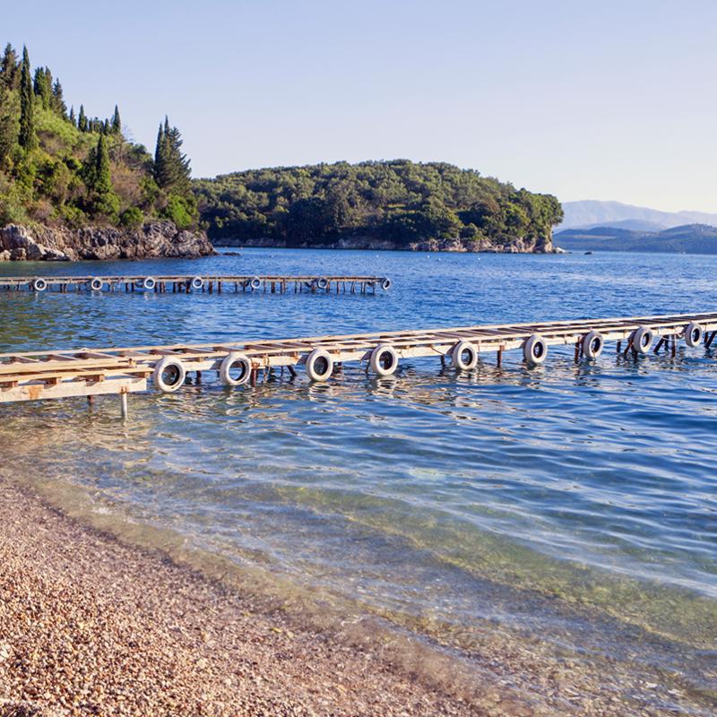 Agni Bay Corfu Greece