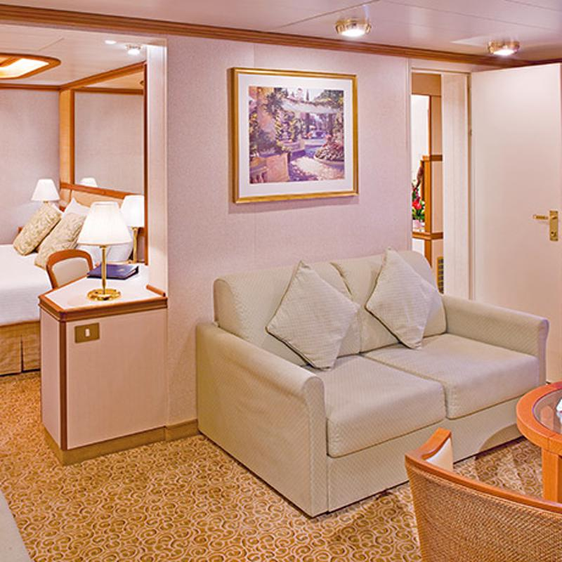 Oceanview Mini-Suite - Island Princess