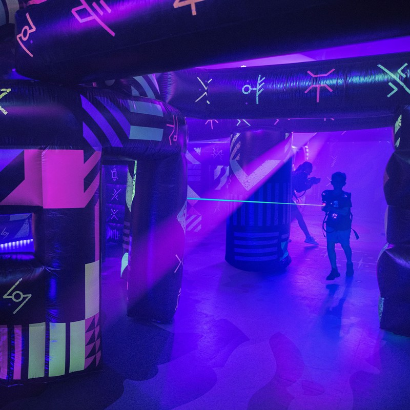 Laser tag: Clash for the Crystal City and Battle for Planet Z