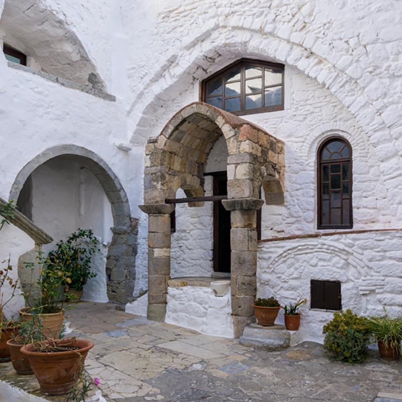 Medieval Chora patmos Greece