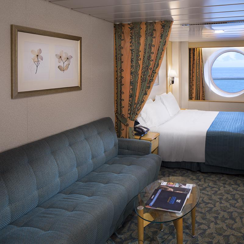 Spacious Ocean View - Freedom of the Seas