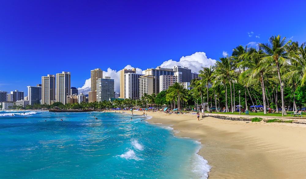 Honolulu, Oahu - Overnight onboard