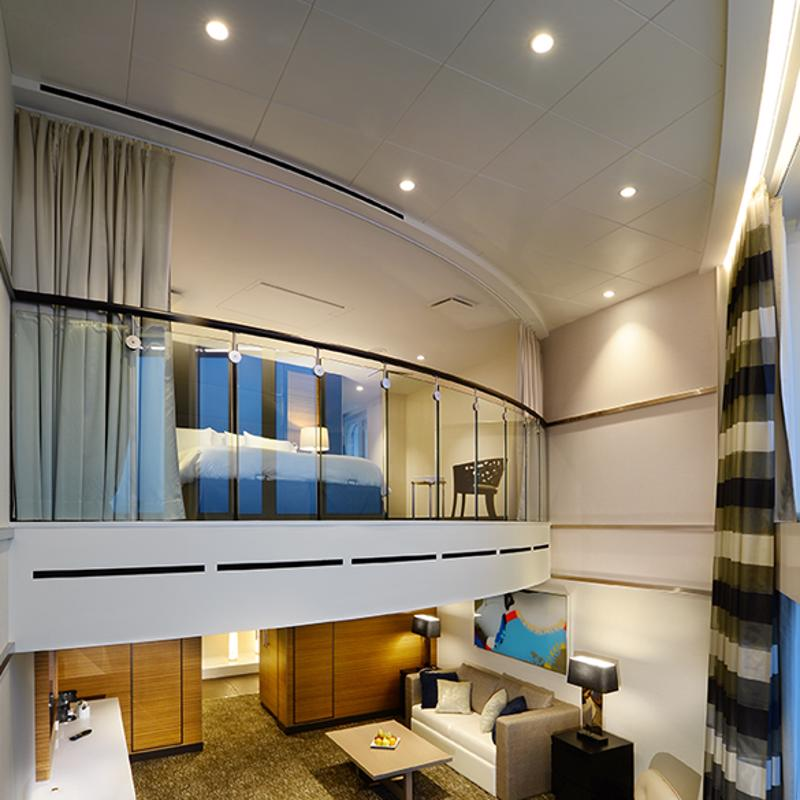 Owner's Loft Suite with Balcony-Ovation of the Seas