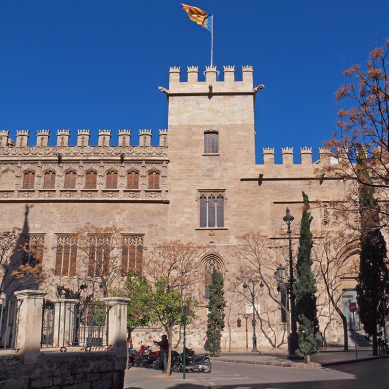 La Lonja de la Seda Valencia Spain