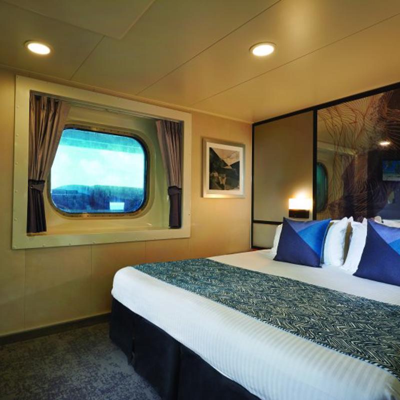 Mid-Ship Oceanview Picture Window - Norwegian Jade