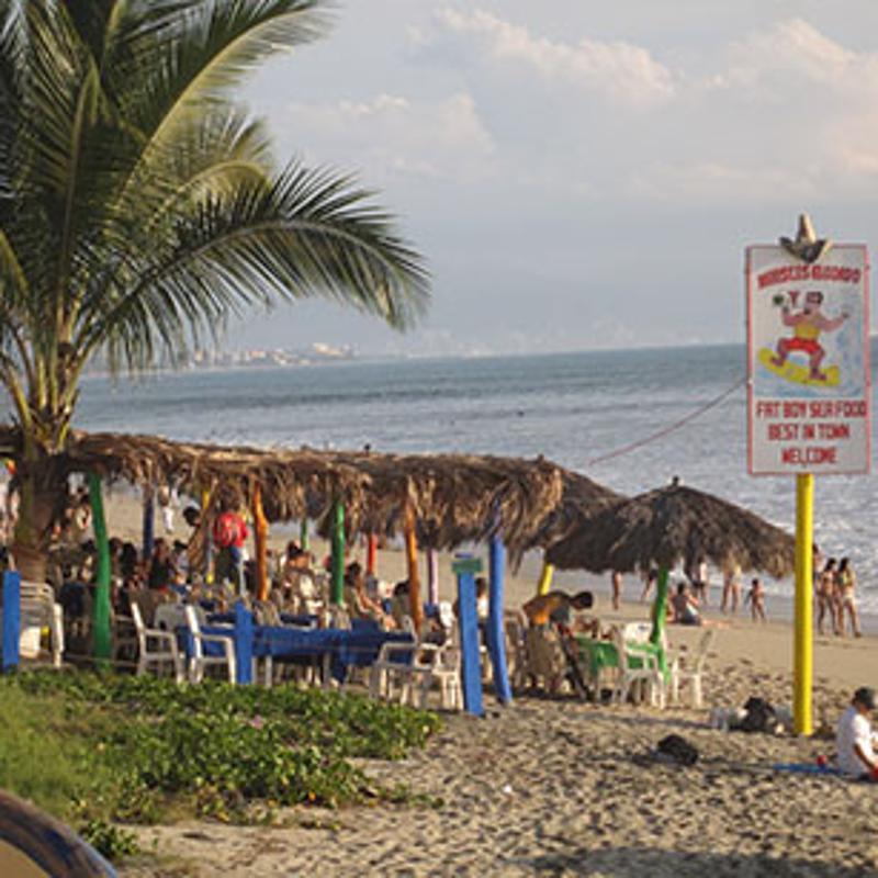 Bucerias Beach Puerto Vallarta