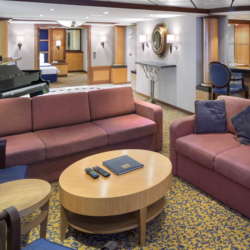 Royal Suite with Balcony - Brilliance of the Seas
