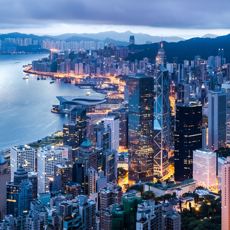 Hong Kong - Overnight onboard
