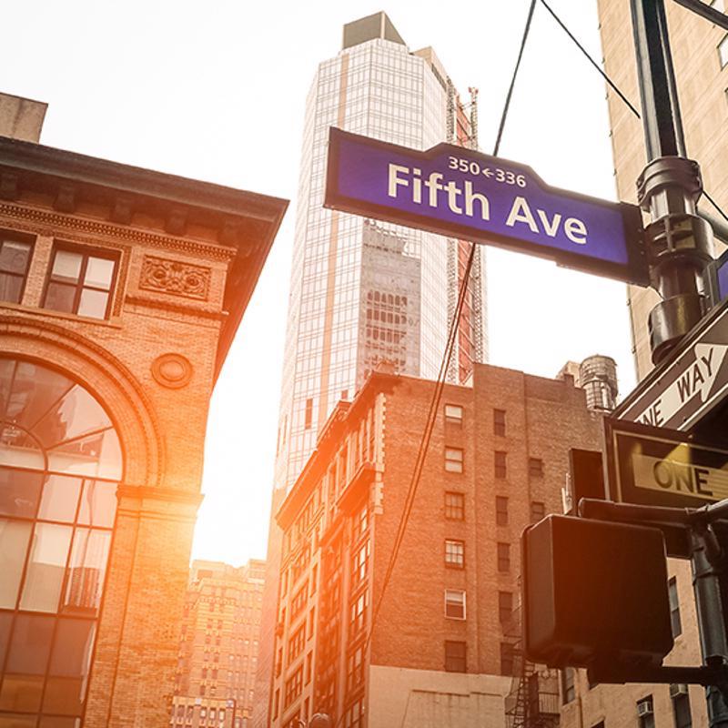 Fifth Avenue New York USA