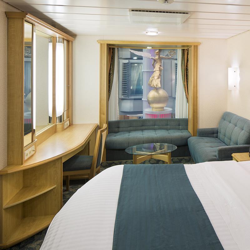 Promenade View Interior - Explorer of the Seas