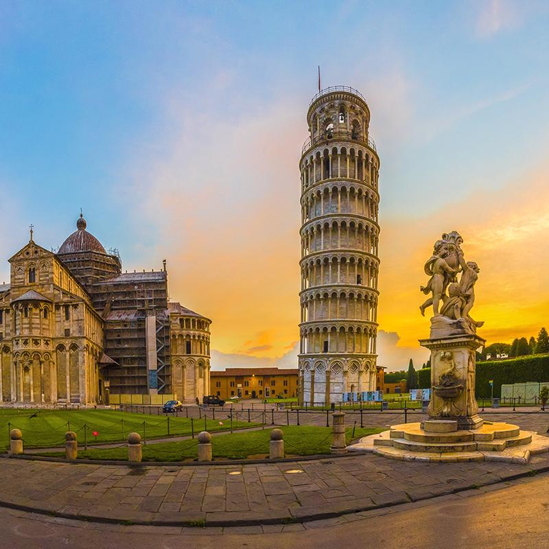 Square of Miracles in Pisa Italy