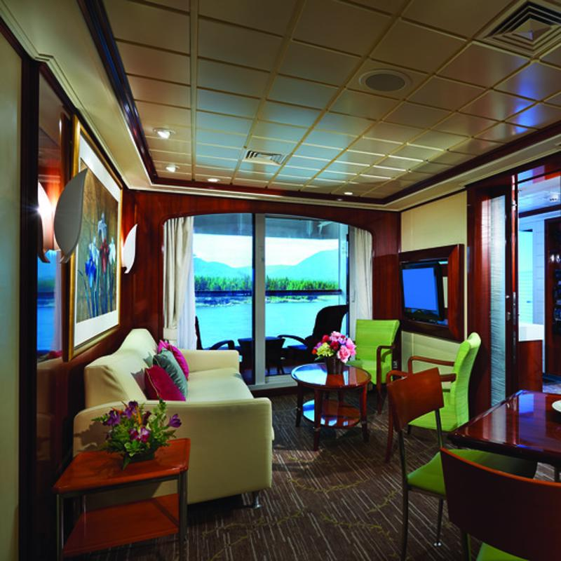 The Haven Owner's Suite with Large Balcony - Norwegian Jewel