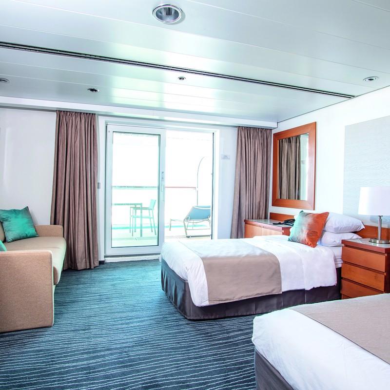 Junior Suite cabin with Balcony and Premier Service- Marella Explorer 2