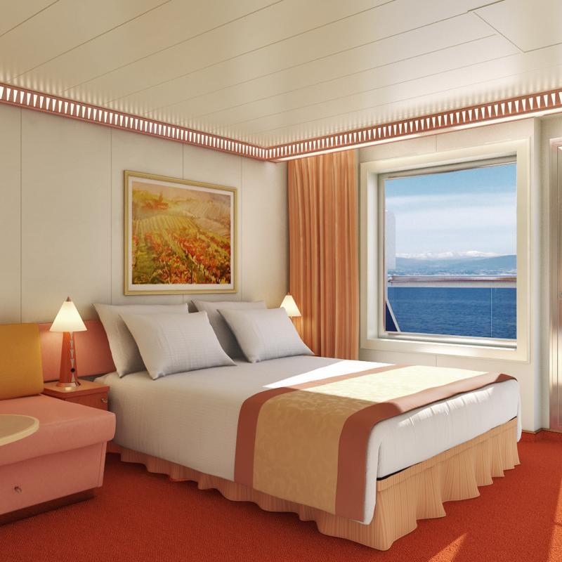 Premium Vista Balcony - Carnival Conquest