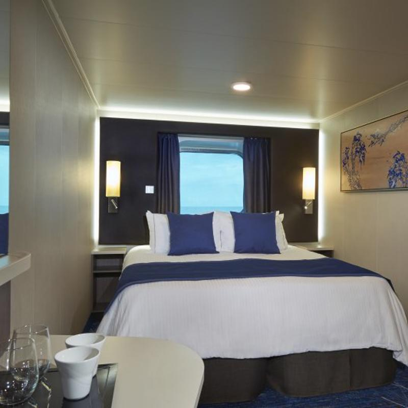 Mid-Ship Ocean View with Large Picture Window - Norwegian Joy