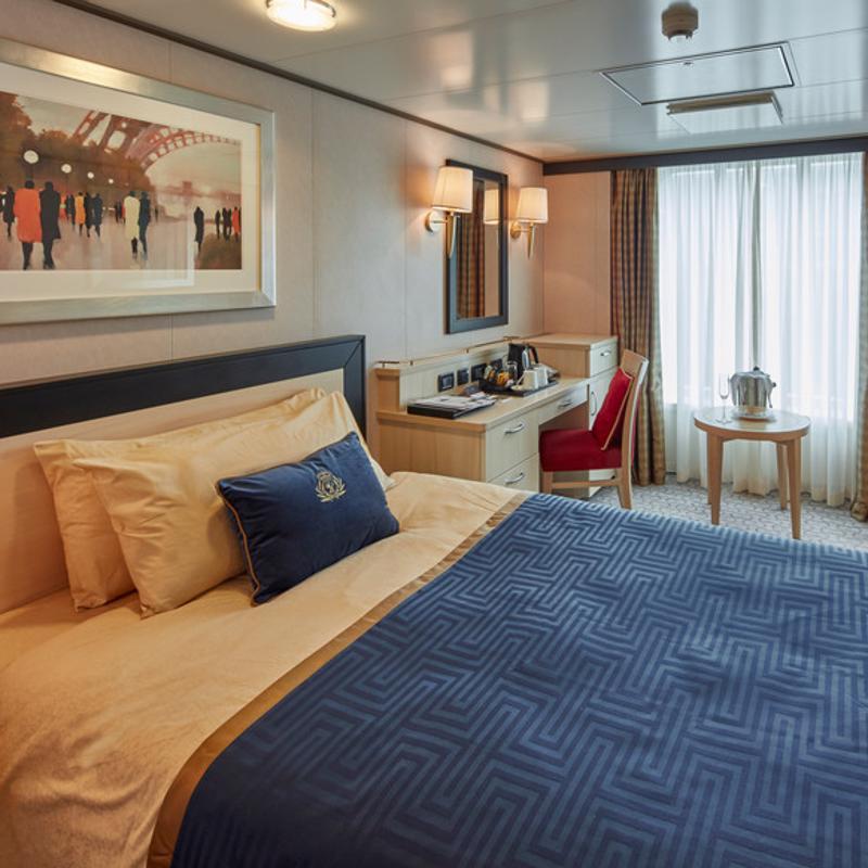 Single Oceanview - Cunard Queen Victoria
