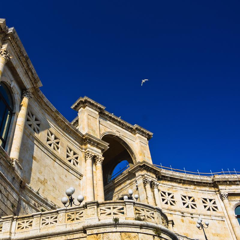 Bastione San Remy Cagliari Sardinia Italy