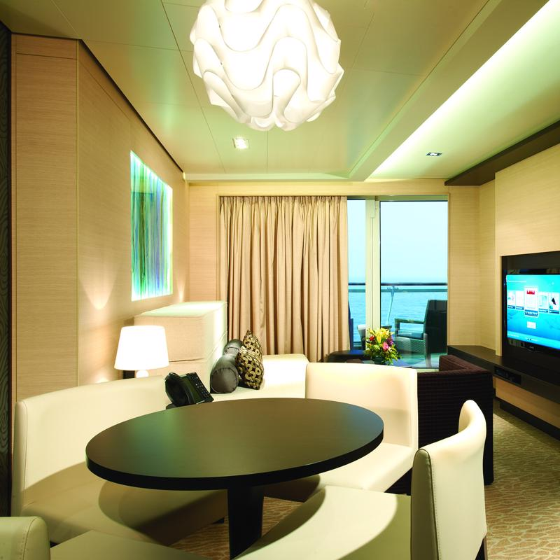 The Haven Aft-Facing Penthouse with Master Bedroom & Large Balcony-Norwegian Getaway