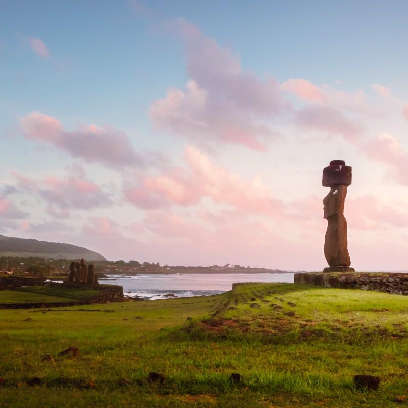 Hanga Roa, Easter Island - Overnight onboard