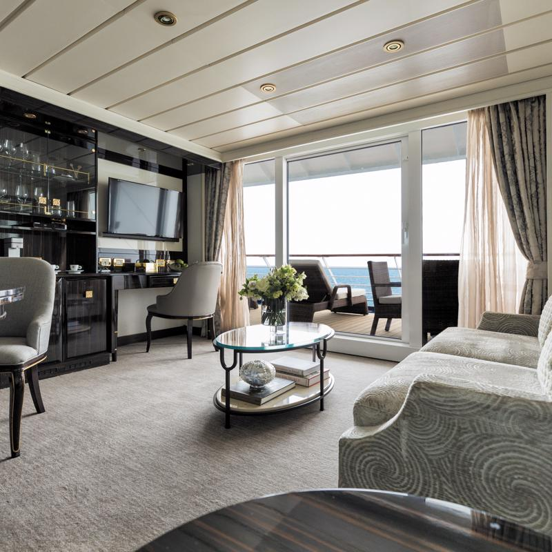 Horizon View Suite Regent Seven Seas Mariner