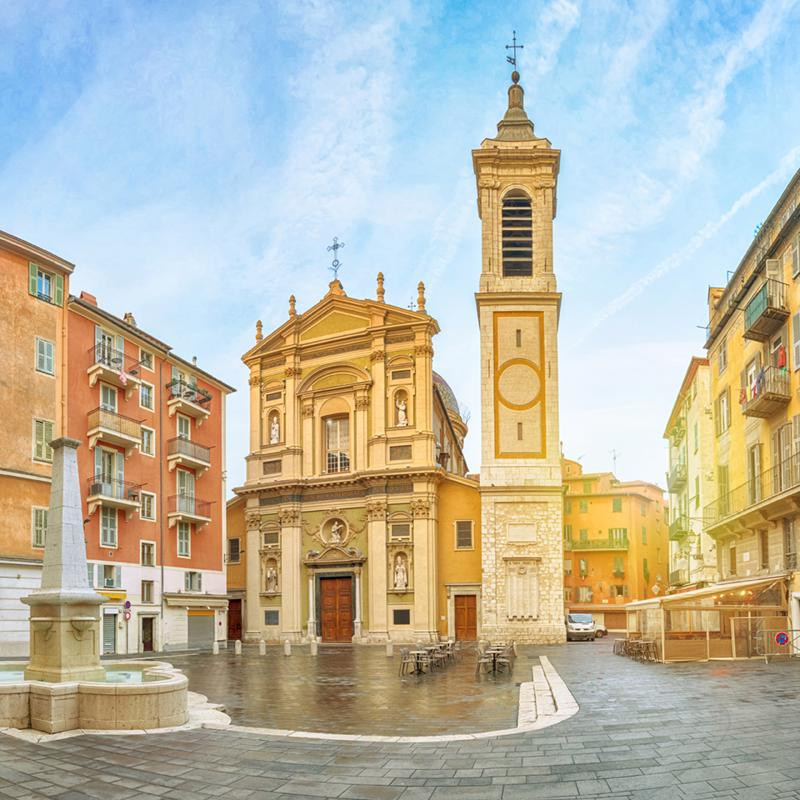 Nice Cathedral Villefranche France